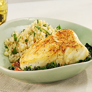 Ginger halibut fish saute for How to cook halibut fish
